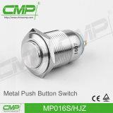 16mm Metallenergien-Lampen-Drucktastenschalter