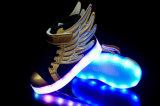 In het groot 8 LEIDENE van de Wijze van de Flits Opvlammende Lichten voor Schoenen