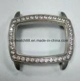 Caja de reloj del acero inoxidable de la alta calidad 316L con los cristales