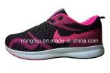 Neuer Ankunfts-Fliegeknit-Sport bereift Form-laufende Schuhe