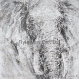 どれも馬のための重い質のグループの油絵を組み立てなかった