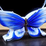Ofício baixo do troféu do cristal da borboleta para a decoração