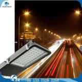 Hot-DIP galvanisiertes achteckiges reines Straßenlaternestahl des Weiß-120W LED