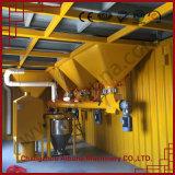 Planta seca en contenedor del polvo del mortero con salida 50-100 mil toneladas