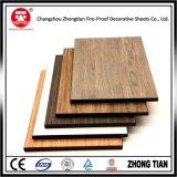Stratifié en bois du formica HPL des graines