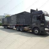 Ladung-Kasten-halb Schlussteil Triaxles Van Body Truck mit Qualität