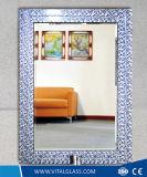 Lo specchio Polished della decorazione/ha tinto lo specchio d'argento del vestito