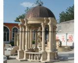 旧式な屋外の装飾のための自然な大理石の庭のパビリオン