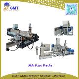 De plastiek Gerecycleerde Granulator die van de Biomassa van pvc WPC Houten Machine maken
