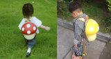 Le sac à dos de forme de champignon de couche pour l'école mignonne d'enfants balade le sac à dos d'impression