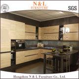 Gabinete de cozinha da placa de partícula da melamina da mobília da cozinha