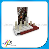 Stand acrylique d'exposition d'étalage de bijou à extrémité élevé