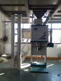 Máquina de ensaque das sementes de algodão com transporte e a máquina de costura