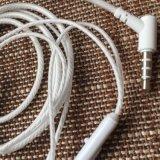 Écouteur stéréo de haute fidélité de qualité de Hiqh avec Micphone 3.5mm Ver fondamental pour des smartphones