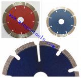 De gesinterde Hulpmiddelen van de Macht 114mm Bladen van de Zaag van de Diamant van de Pers van 4.5 Duim Hete
