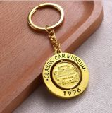 Ricordo su ordinazione Keychain del supporto di tasto dell'anello chiave di marchio del regalo di promozione