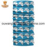 高品質の屋外の汗吸収性ポリエステル伸張のペーズリーによって印刷されるバンダナ