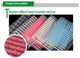 etiquetas engomadas del traspaso térmico 3D con buena calidad
