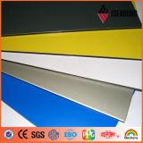 PVDF che ricopre il comitato composito di alluminio metallico dell'oro della decorazione della parete esterna
