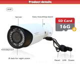 4MP Varifocal cámara IP inalámbrica con 16g SD Card