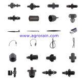 Doppelter männlicher Kontaktbuchse-Adapter-Verbinder für Minirohr des Bewässerungssystem-Kurbelgehäuse-Belüftung