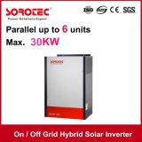 AN/AUS-Rasterfeld-hybrider Solarinverter 1kVA-5kVA 48VDC mit 120A MPPT Controller