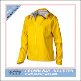 Chaqueta impermeable con capucha de invierno para mujer