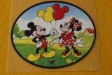 Impresión de la transferencia de la escritura de la etiqueta de la historieta de Mickey y de Elsa para los cabritos