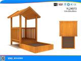 Strumentazione esterna del campo da giuoco della Camera di legno del parco di divertimenti (YL24973)