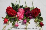Heißer Verkauf künstliche Rose blüht künstliche Rosa-Großhandelsblumen für Dekoration