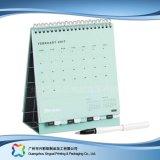 Calendario de escritorio creativo para el regalo de la decoración de la fuente de oficina (xc-stc-019)