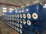 4-160 tipo coletor de Donaldson de poeira horizontal do filtro do cartucho para a extração das emanações da indústria química