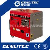 молчком тепловозный генератор энергии 5kVA с большим топливным баком 25L