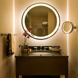 Specchio dell'indicatore luminoso di vanità di Fogless illuminato LED della stanza da bagno per noi hotel