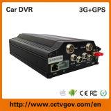 Navegación de la flota 720p Ahd 4CH Car GPS / 3G / 4G / SIM Mdvr para el taxi del autobús del carro