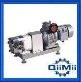 Pompe sanitaire de lobe de moteur de convertisseur d'AISI 304, 50Hz ou 60Hz