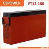FT12-180 хранение свинцовокислотной батареи изготовления 12V180ah переднее терминальное солнечное