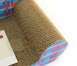 Forma del sofá Gato que rasguña la cama Pat, cartulina ondulada del rasguño Cartón