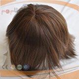 European High End Injected Technology cabelo humano peruca de homens