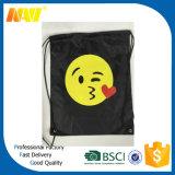 De goedkope Promotie210d Zak van Emoji Drawstring van de Polyester