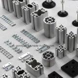 Profil en aluminium industriel anodisé par argent pour l'industrie de machines