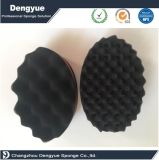 Oval doble lado esponja cepillo para Dreads bloqueo de la bobina Afro Curl onda herramienta