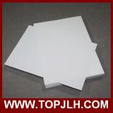 Papier d'étiquette de papier de transfert de glissière d'eau de jet d'encre et de laser pour l'impression faite sur commande
