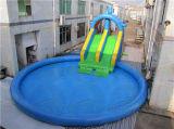 Sosta gonfiabile gigante dell'acqua, trasparenza di acqua commerciale da vendere