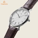 Los relojes al por mayor chinos del cuero genuino para los hombres, lujo miran Men72600