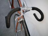 Lugged Cro Moly retro Engranaje fijo de la bicicleta