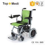 Vendita calda dell'Europa nel peso leggero ultra che piega la sedia a rotelle di energia elettrica per Handicapped e gli anziani