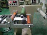 Rollo de papel de etiquetas, ni automática de corte longitudinal de rebobinado de la máquina