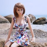 148cmのアジア表面小さい箱のかわいい女の子の小さいブレストの実質の人形