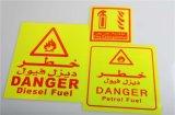 Het Merken van de Veiligheid van de Waarschuwing van het verkeer de Weerspiegelende Sticker van de Band